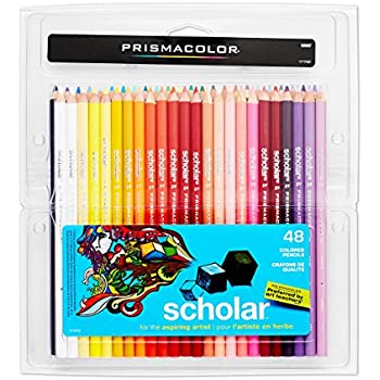 Prismacolor Scholar Colored Pencils, 48-Count