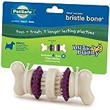PetSafe Busy Buddy Bristle Bone Dog Toy, Small