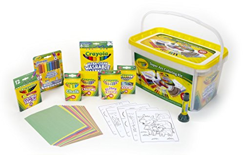 - Crayola Super Art Kit, Gift Kids Amazon Exclusive, Over 100 Pieces