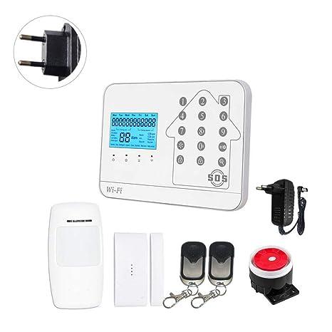 iYoung Alarma Antirrobo, Sistema De Alarma para El Hogar Kit ...