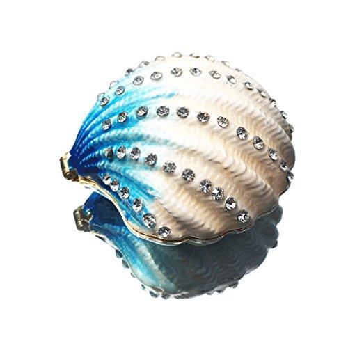 Waltz&F Seashell Ring Holder Trinket Box