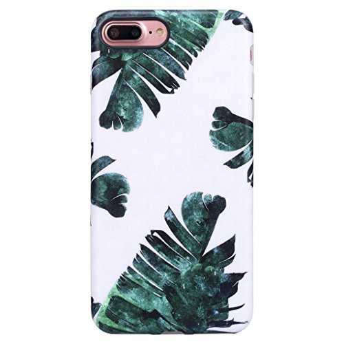 iPhone 7 Plus Case for Girls/iPhone 8 Plus Floral Case, GOLINK Floral Series MATTE Finish Slim-Fit Anti-Scratch Shock Proof Anti-Finger Print Flexible TPU Gel Case For iPhone 7/8 Plus - - Floral Finish