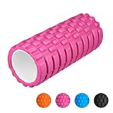 """Enkeeo Foam Roller 13"""" × 6"""" EVA with Grid Design Muscle Rollers for Deep Tissue Myofascial Release, Sports Massage and Recovery, Trigger Point..."""