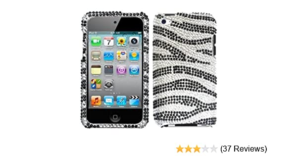 Stylish Stars Diamante Case Cover For Apple iPod touch 4th generation