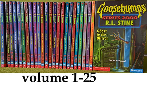 Goosebumps Series 2000, Complete Set: Books 1-24