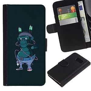 JackGot ( Hipster Calle Gorila ) Sony Xperia Z1 Compact / Z1 Mini (Not Z1) D5503 la tarjeta de Crédito Slots PU Funda de cuero Monedero caso cubierta de piel