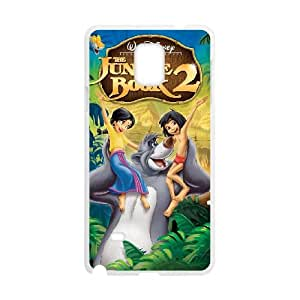 Jungle Book Samsung Galaxy Note 4 Cell Phone Case White