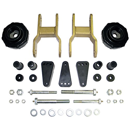 Performance Accessories, Toyota Tacoma 2WD and 4WD Coil Spring and Shackle Lift (6-Lug) 2