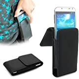 Leather Belt Clip Kickstand Holster Pouch Case for Samsung Galaxy S7,S6 Edge,S6