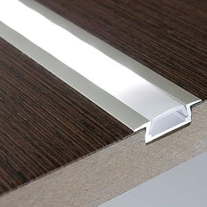projekt licht led profil micro k eloxiert l 2 meter f r led strip abdeckung opal kann ich nur. Black Bedroom Furniture Sets. Home Design Ideas