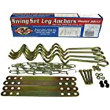 Ground Anchor Kit for Metal Frame Swing Sets Flexible Flyer New Free Shipping