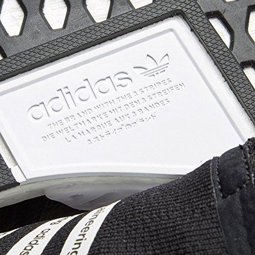 Adidas Mens Bianco Alpinismo Nmd_r2 Pk Nero / Bianco Bb2978 (misura: 10.5)