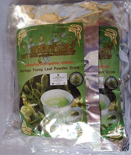 Moringa Youg Leaf Powder Drink Net Weight 20 G (2 G. X 10 Sachets) X 6 Packs
