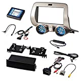 Pac 2010-15 Chevy Camaro Install Kit Single & D.Din w/ Wire Harness & Climate