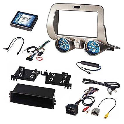 Surprising Amazon Com Pac 2010 15 Chevy Camaro Install Kit Single D Din W Wiring Digital Resources Counpmognl