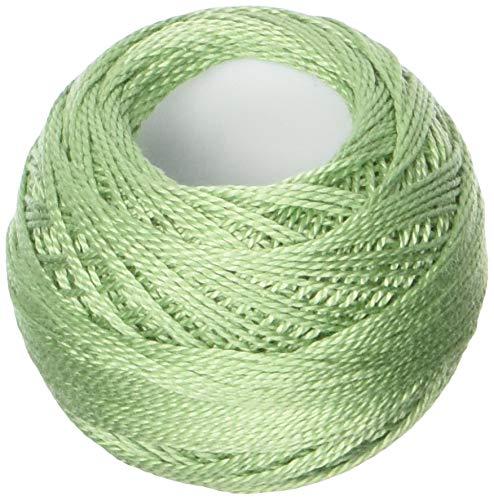 (DMC 116 8-368 Pearl Cotton Thread Balls, Light Pistachio Green, Size 8)