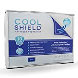 Cooling Mattress Pad Reviews Cool Shield No Allergy Waterproof Mattress Protector - Breathable Terry Cover Protects Against Dust Mites, Allergens, Bacteria, Mold and Fluids - See Reviews - Machine Washable Mattress Protector - Best 10-yr Guarantee - Size: Twin