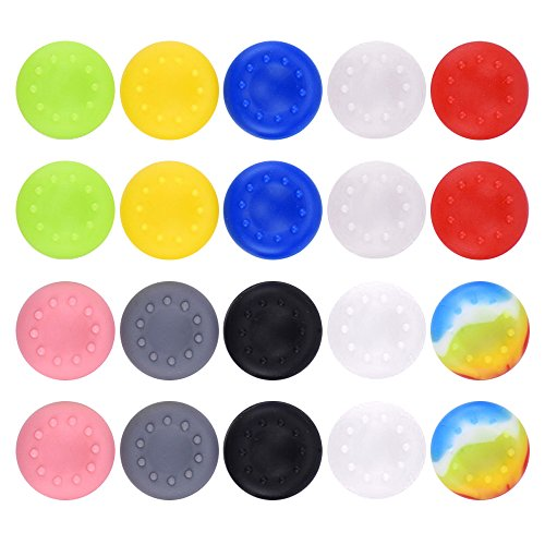 Mudder Silicone Thumb Grips Caps Stick Protect Cover for Xbox One Controllers