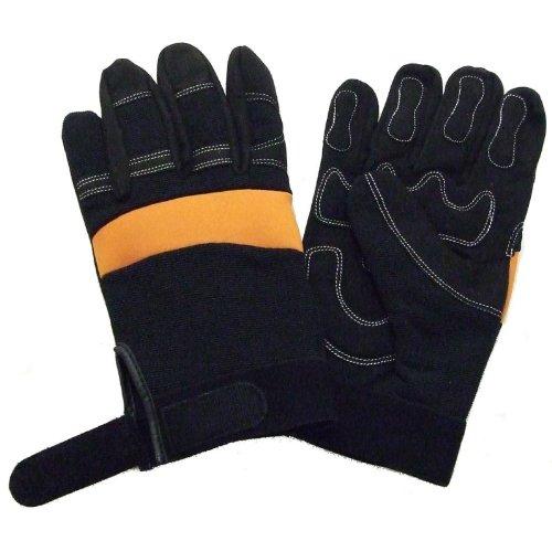 Partial Gel Filled Anti Vibration Work Gloves Large, Size...