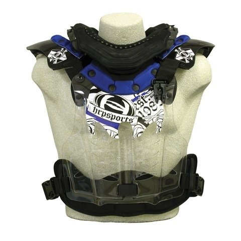 HRP Sports Flak Jak LT-IMS Chest Protector - Youth (BLUE)