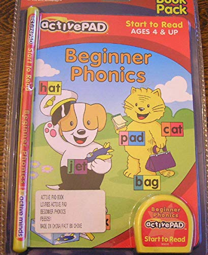 ActivePad, Beginner Phonics, Start to Read (Interactive Book and Cartridge for use with ActivePad) by activePAD (Image #4)