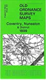 Coventry, Nuneaton and District 1899: One Inch Sheet 169 (Old Ordnance Survey Maps - Inch to the Mile)