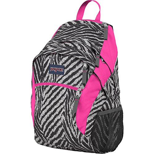 1950 Backpack - JanSport Wasabi Backpack - 1950cu in Grey Tar Wild At Heart, One Size