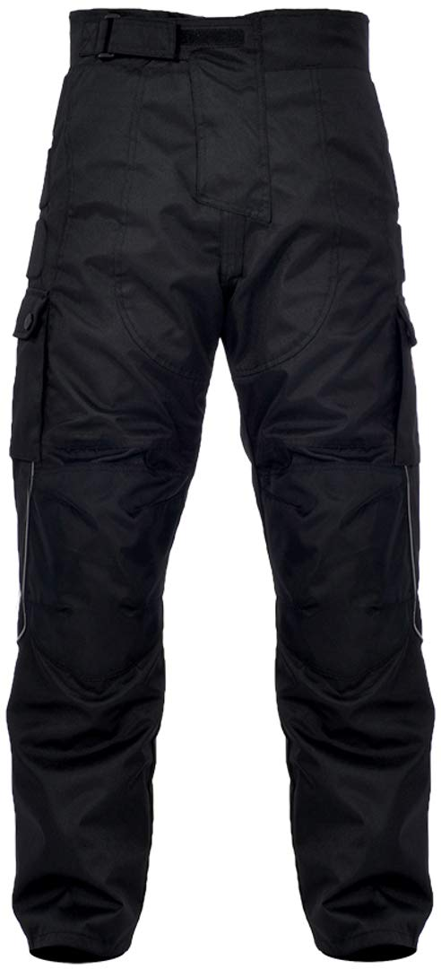T17BM Oxford Spartan Motorcycle Trousers M Black