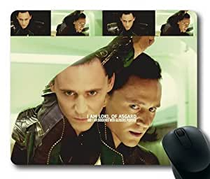 """Custom & Personalized Tom Hiddleston in LOKI Mouse Pads/Mats-Picture Printed Rectangle/Oblong Mousepad in 7""""*9"""""""