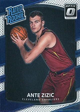 on sale 53347 9ea31 Amazon.com: 2017-18 Donruss Optic #186 Ante Zizic Cleveland ...