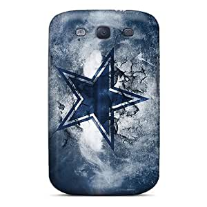 Quality L.M.CASE Case Cover With Dallas Cowboys Nice Appearance Compatible With Galaxy S3