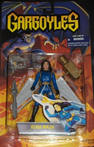 Gargoyles: Elisa Maza with Rocket Wing Jet Pack