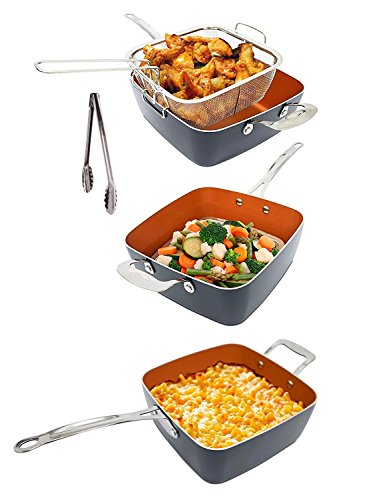 Gotham Steel As Seen On Tv All In One Pan Titanium And