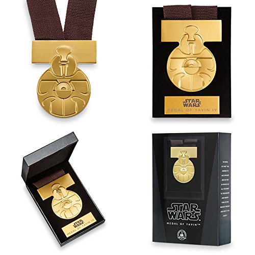 (Disney Star Wars A New Hope ANH Medal of Yavin Movie Prop Replica)