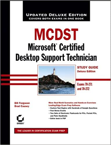 MCDST Microsoft Certified Desktop Support Technician Study Guide Exams 70