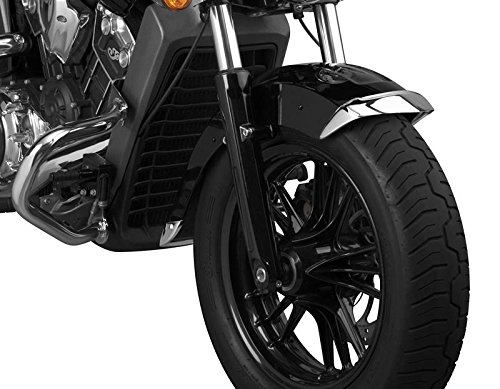 - National Cycle Cast Front Fender Tips; 2-Piece Set for Indian® Scout