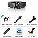 Home-Theater-Projector-WiFi-Warranty-Included-3200-Lumen-Support-1080p-Full-HD-USB-Wireless-Multimedia-Projector-Portable-for-Laptop-Smartphone-iPhone-Indoor-Outdoor-Video-Game-Movie-Projector