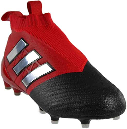 new style c3e17 dec8b adidas Ace 17+ PureControl FG Cleat - Men s Soccer 9 Red Running White