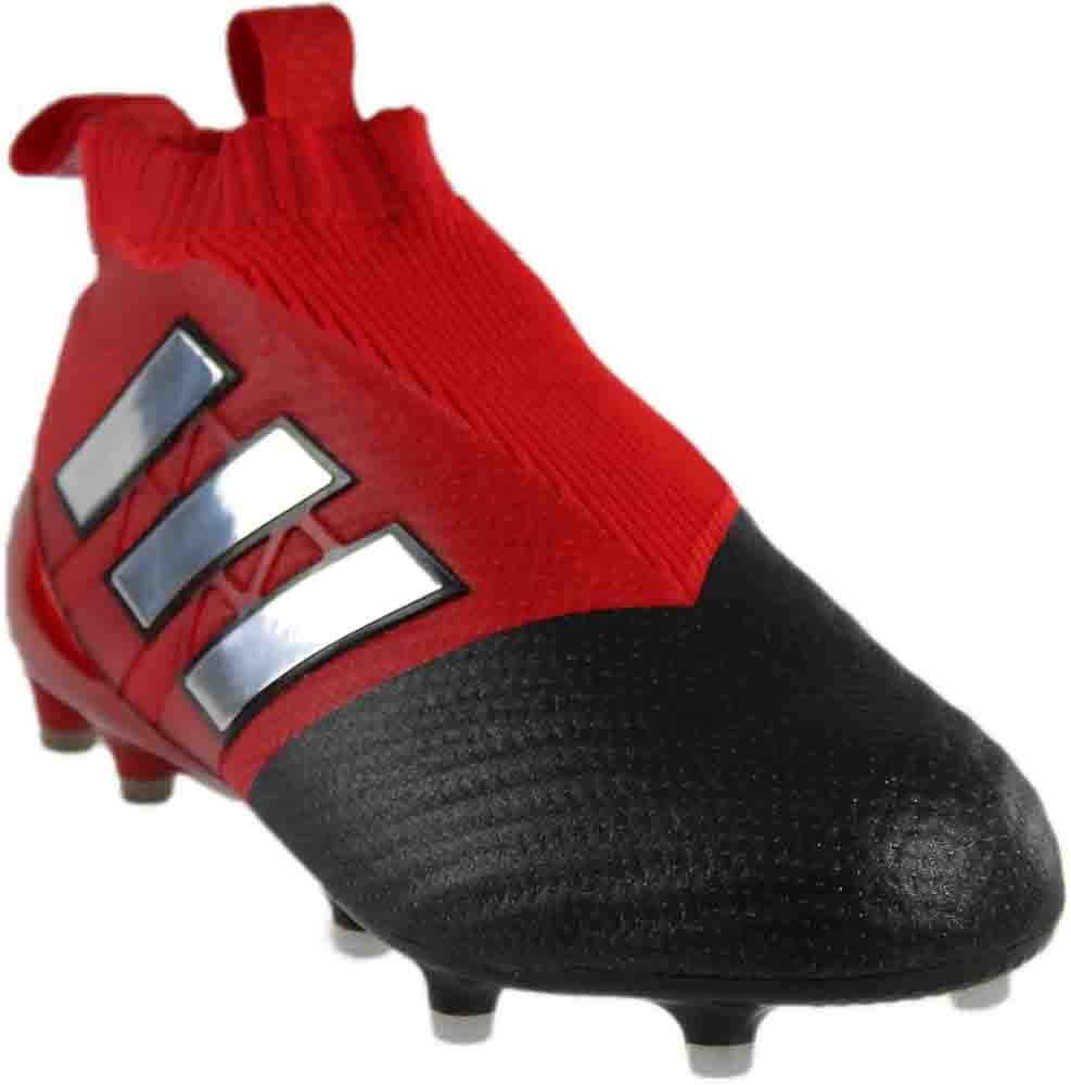 separation shoes 8c6da 0416b adidas Men's ACE 17+ PURECONTROL Soccer Cleat (9, Red/White/Black)