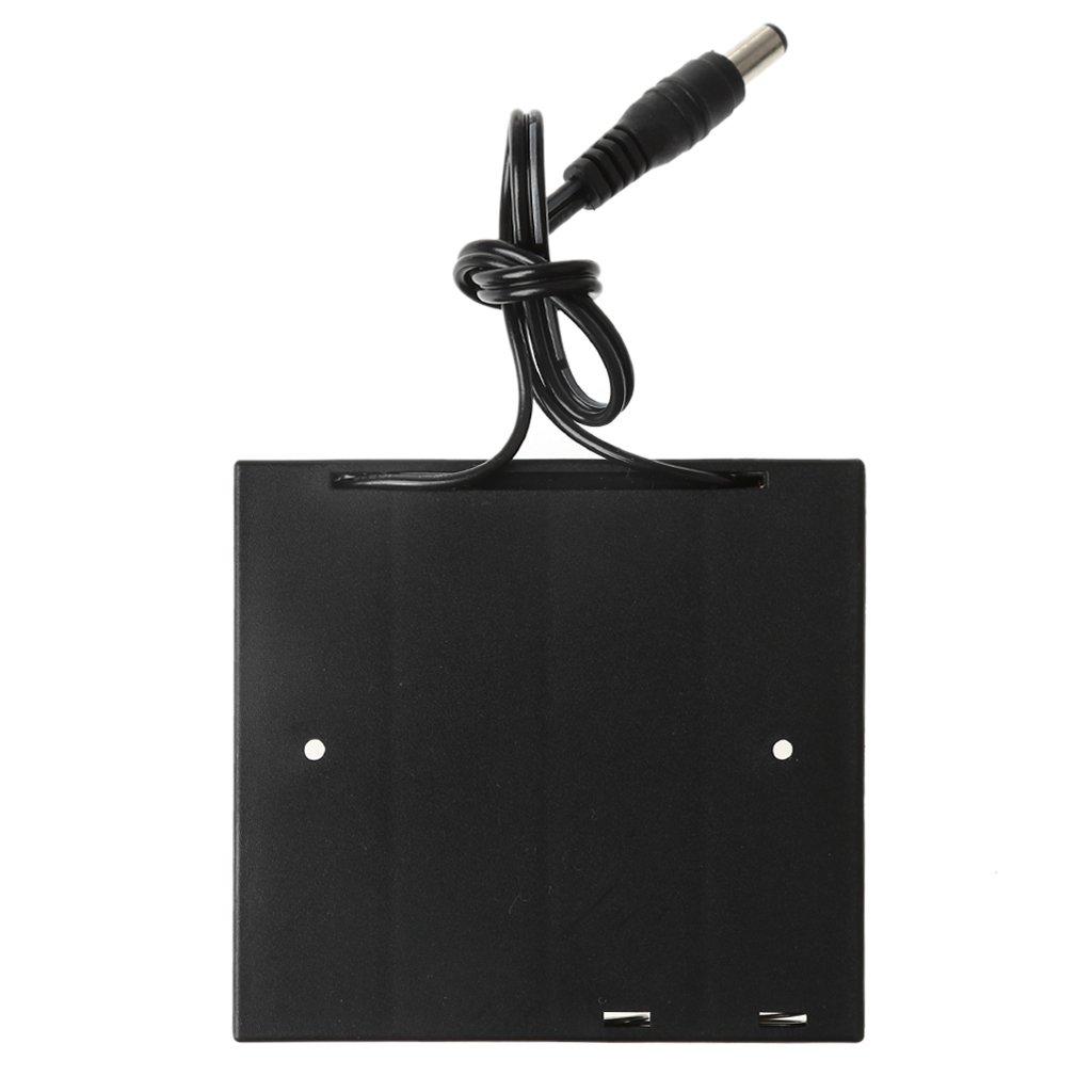 Pennyninis 1 UNID DIY 2x 3x 4x 18650 Caja De Almacenamiento Caja De Almacenamiento Titular De La Bater/ía Con DC 5.5x2.1mm Enchufe De Alimentaci/ón