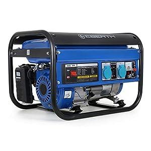 EBERTH 3000 W Generatore di corrente (6,5 CV Motore a benzina a 4 tempi, Monofase, 2x 230 V, 1x 12 V, Regolatore di volt… 51h%2BZUGlfWL. SS300