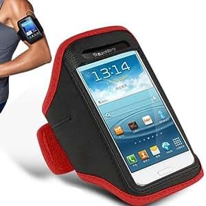 Samsung Galaxy S6310 joven brazal ajustable Gimnasio Correr Correr Deporte cubierta de la caja por 123 Online (Red)
