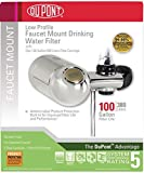 DuPont WFFM300XCH Premier Faucet Mount Horizontal 100-Gallon Capacity Water Filter, Chrome