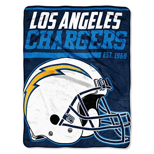 - NFL Los Angeles Chargers 40 Yard Dash Micro Raschel Throw, 46