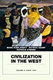 img - for Civilization in the West, Vol. 2: Since 1555 book / textbook / text book