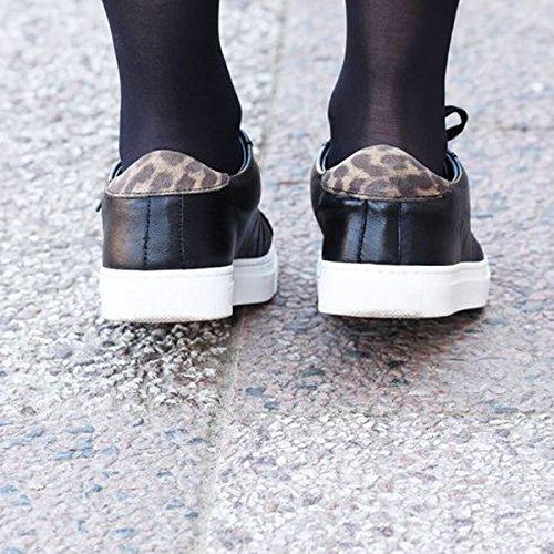Paris Kvinder Sorte Til Exclusif Sneakers Hd4q4g