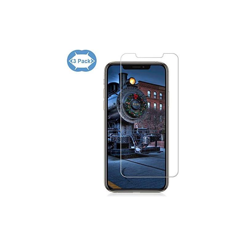 [3 Pack] iPhone XR Screen Protectors Eas