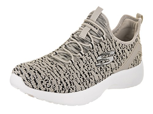 Womens Skechers Knitted Natural Bungee Ankle Bootie Cdd7q1wr