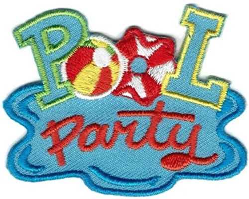Cub Girl Boy POOL PARTY #2 Embroidered Iron-On Fun Patch Crests Badge Scout Guides by Scouts Patch