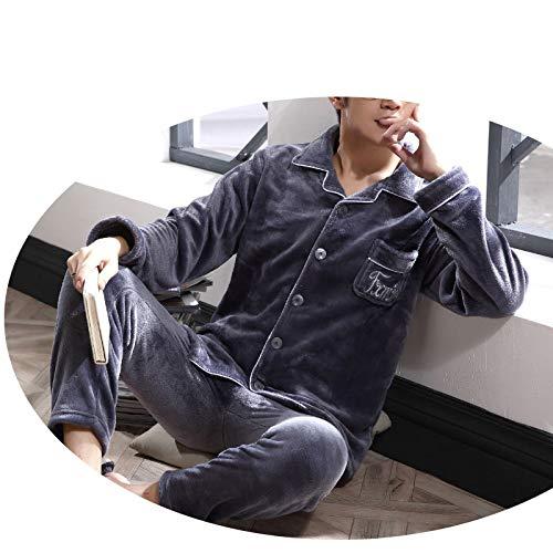 Trapuntato Tre Greya Piumino Strati Da Pajamas Flanella Pigiama Più Uomo Di Servizio A Tuta In HTnUgnqYI